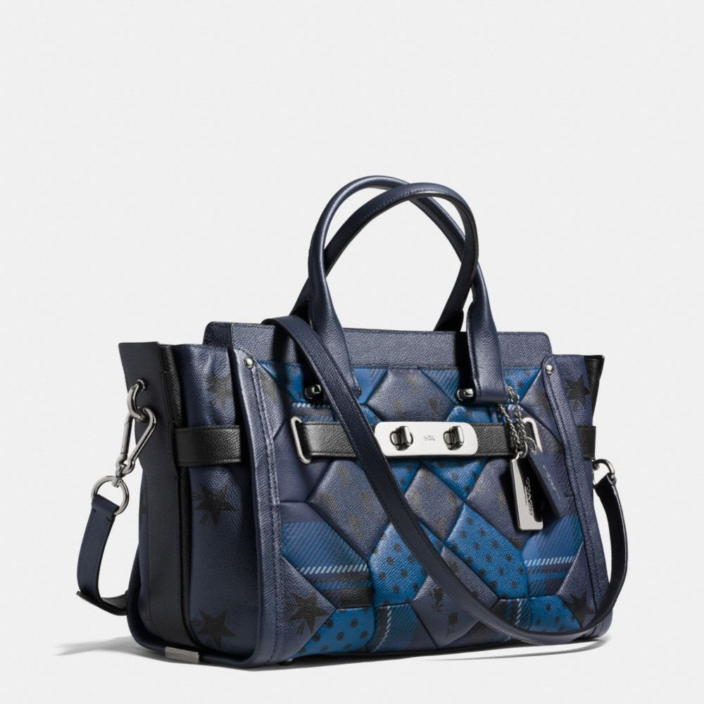 Coach Swagger in Printed Patchwork Leather - Alternate View A2
