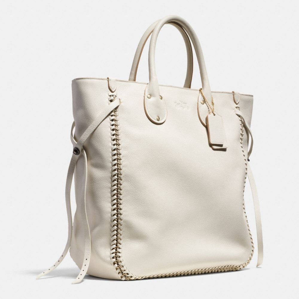 Tatum Tall Tote in Whiplash Leather - Alternate View A2