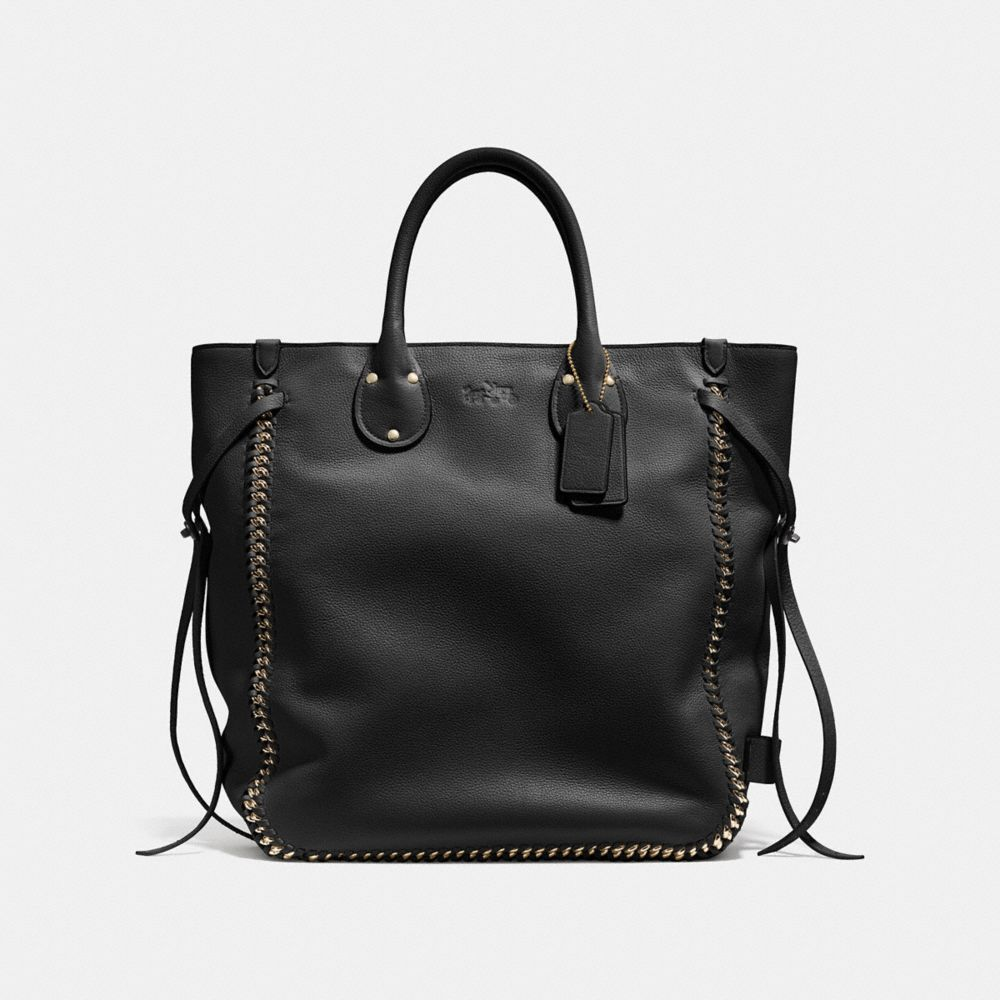 Tatum Tall Tote in Whiplash Leather