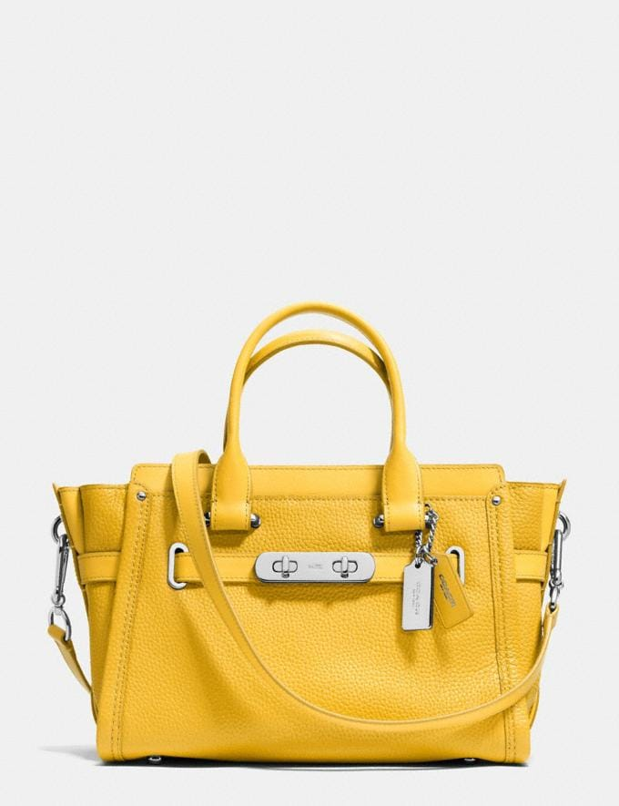 Coach Coach Swagger 27 Silver/Canary Gifts