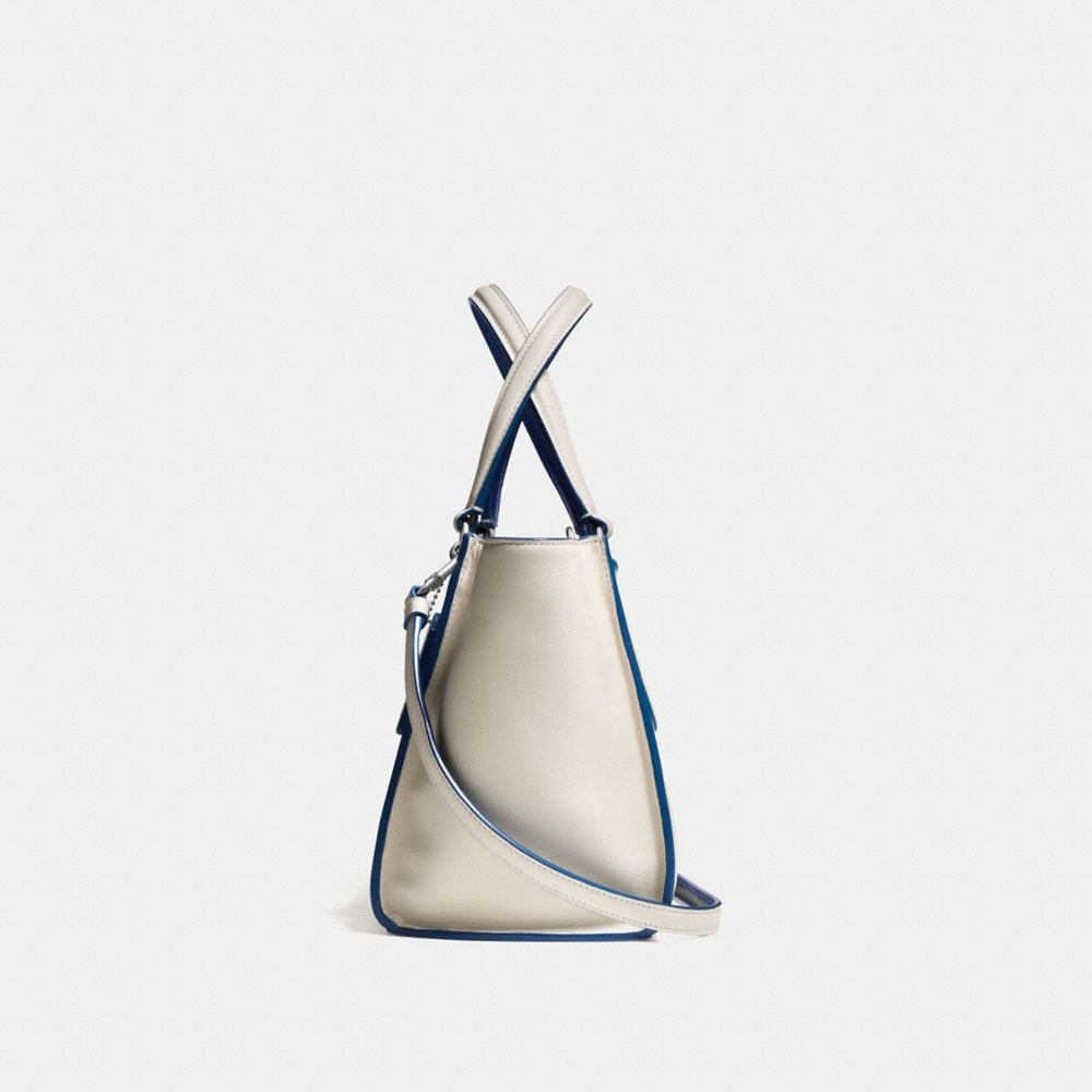 CROSBY MINI CARRYALL IN COLORBLOCK LEATHER - Autres affichages A1