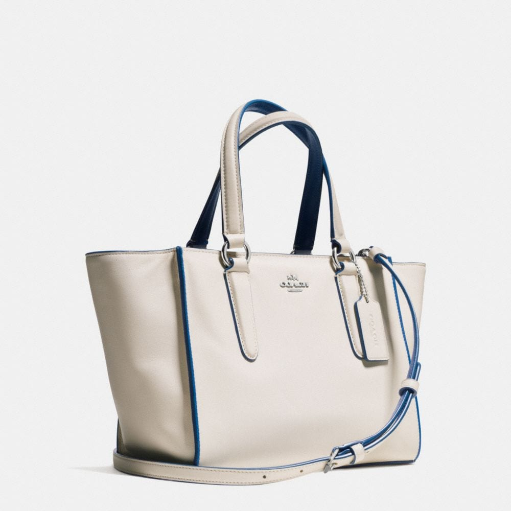 CROSBY MINI CARRYALL IN COLORBLOCK LEATHER - Autres affichages A2