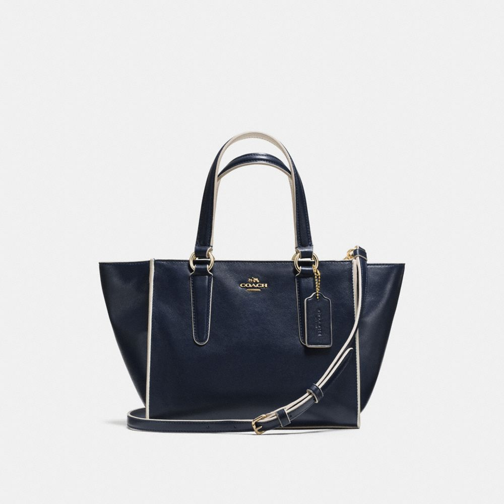Crosby Mini Carryall in Colorblock Leather