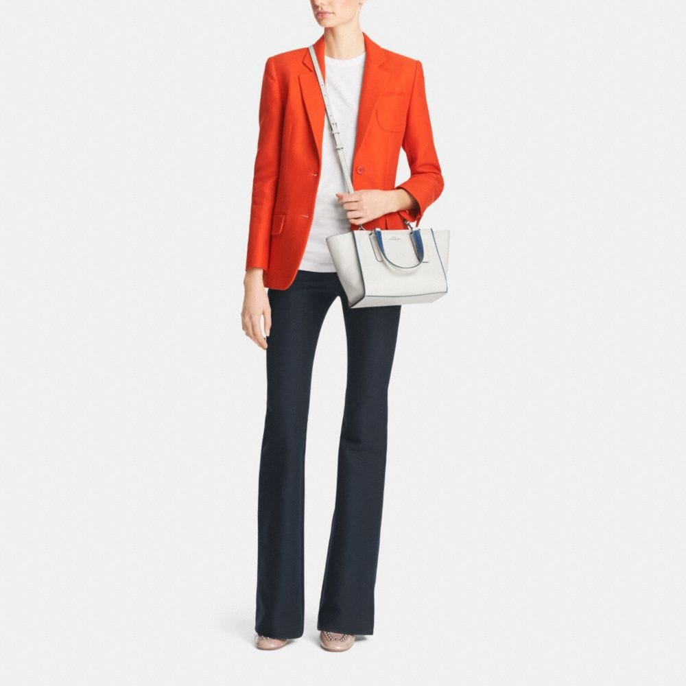 Crosby Mini Carryall in Colorblock Leather - Autres affichages M1