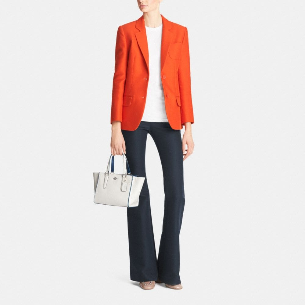 Crosby Mini Carryall in Colorblock Leather - Autres affichages M2