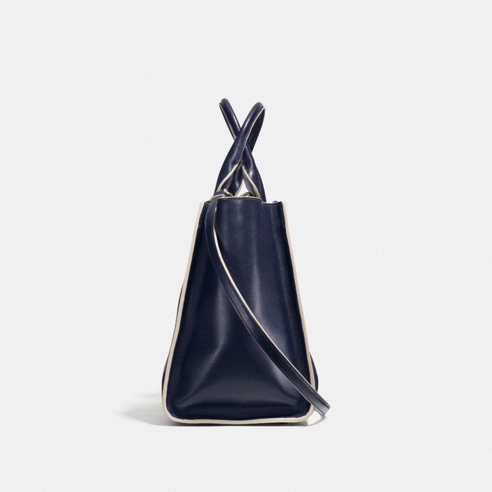 Crosby Carryall in Colorblock Leather - Alternate View A1