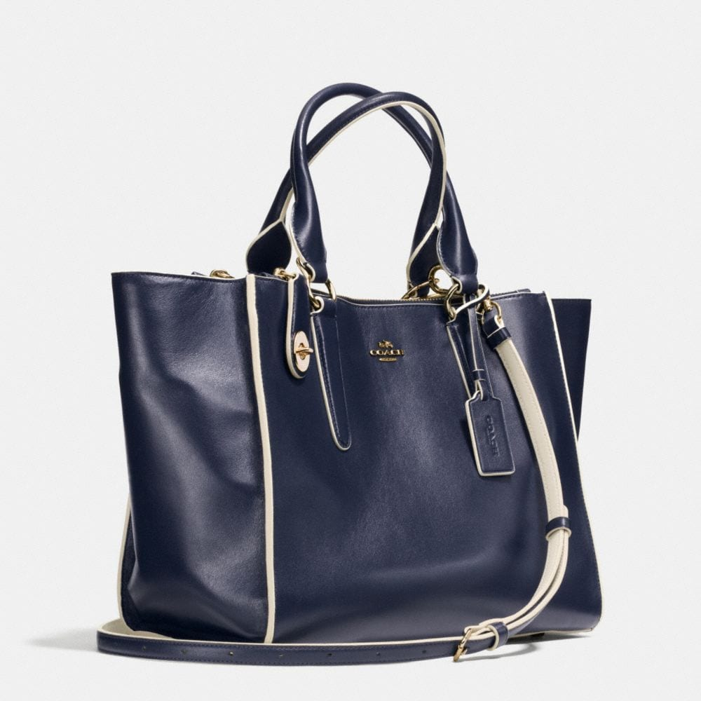 Crosby Carryall in Colorblock Leather - Alternate View A2