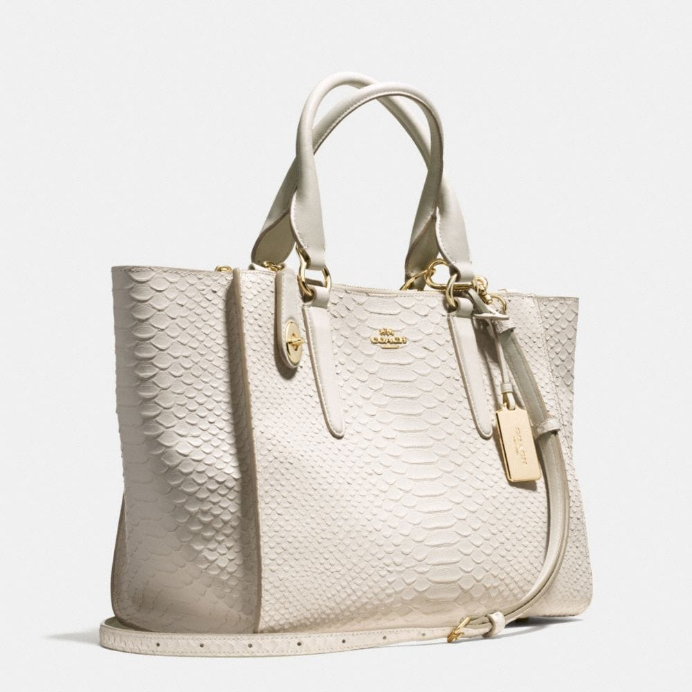 Crosby Carryall in Python Embossed Leather - Autres affichages A2