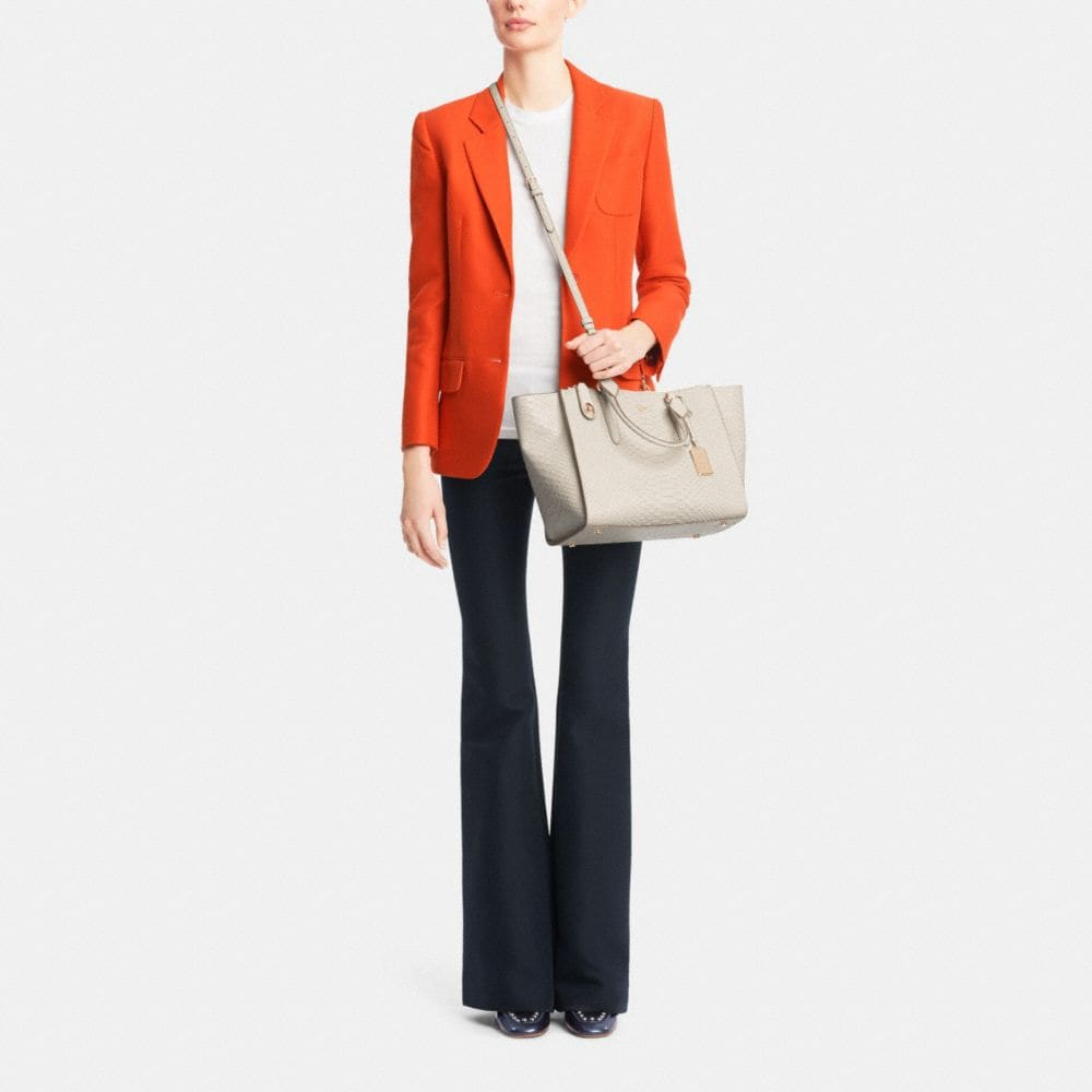 Crosby Carryall in Python Embossed Leather - Autres affichages M