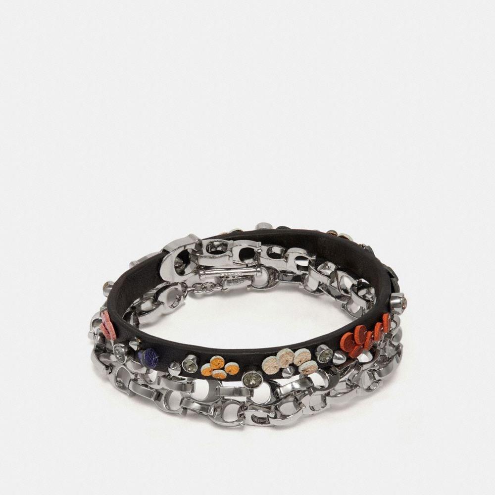 Coach Sequin Wrap Bracelet