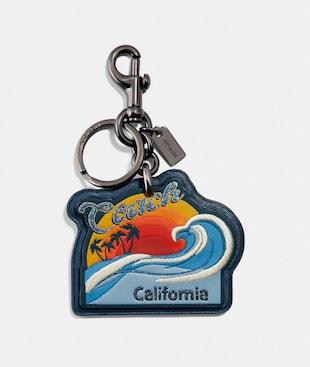 CALIFORNIA BAG CHARM