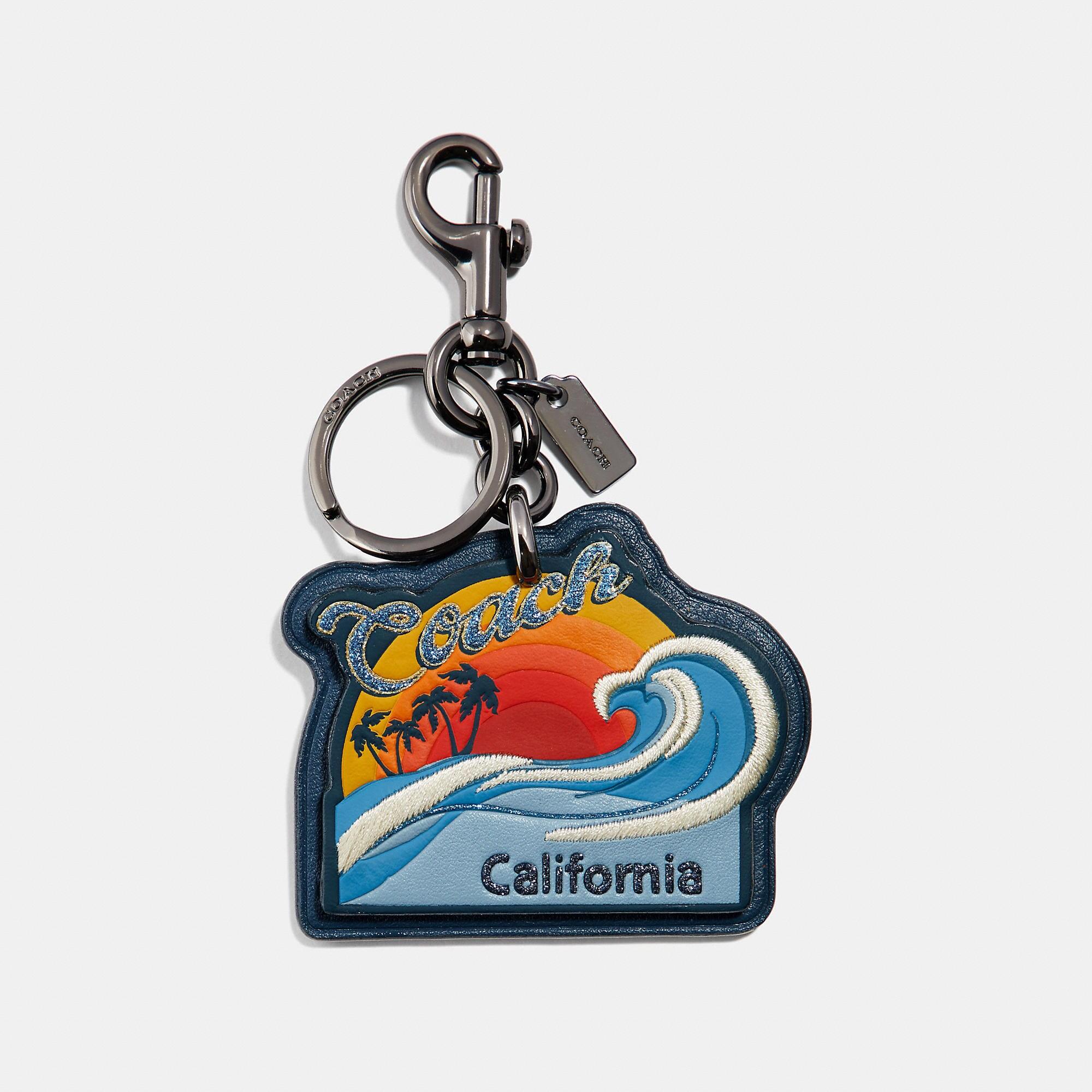 Coach California Bag Charm
