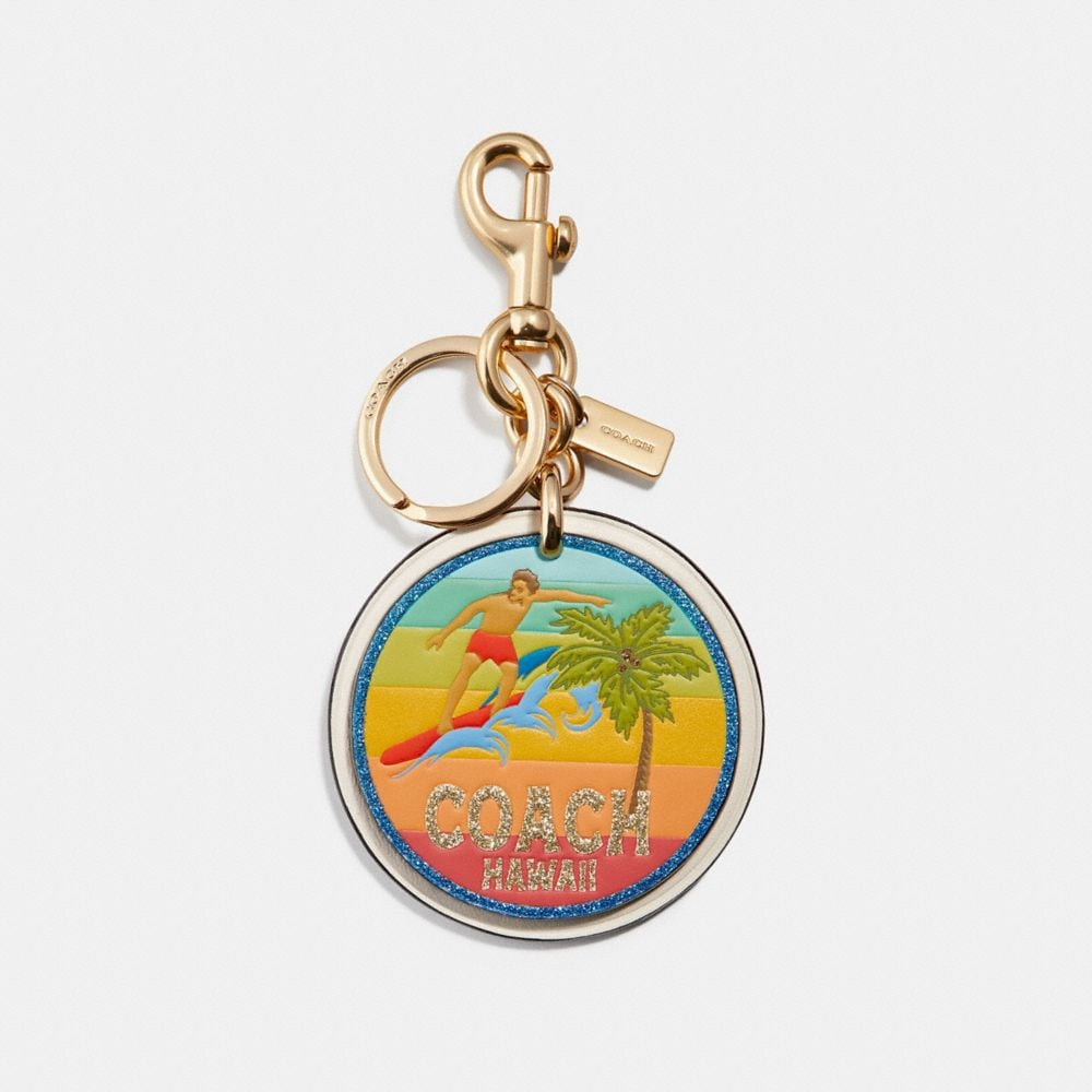 Coach Hawaii Bag Charm