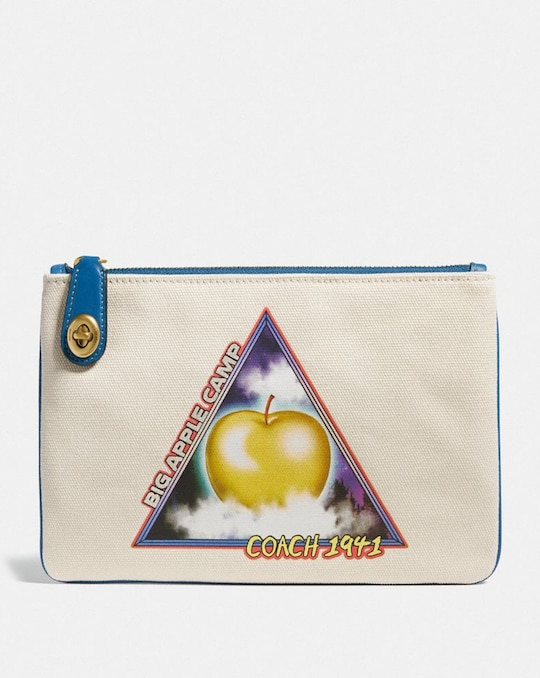 TURNLOCK POUCH 26 WITH SCI FI BIG APPLE CAMP PRINT