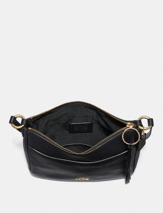 Coach Chaise Crossbody Black/Gold Cyber Monday Alternate View 2