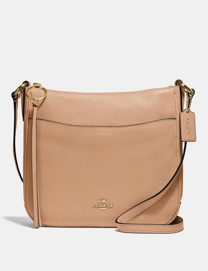 Coach Chaise Crossbody Beechwood/Gold Gifts For Her
