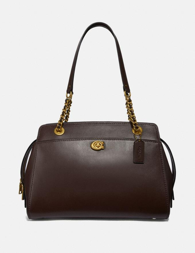 Coach Parker Carryall Oxblood/Brass Customization Personalize It Monogram for Her