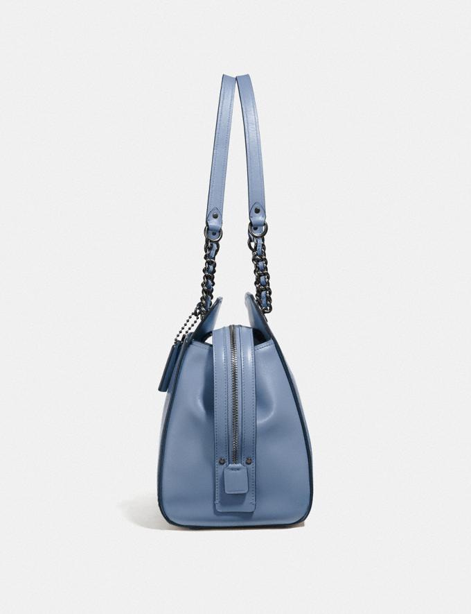 Coach Parker Carryall Oxblood/Brass Women Bags Satchels & Carryalls Alternate View 1