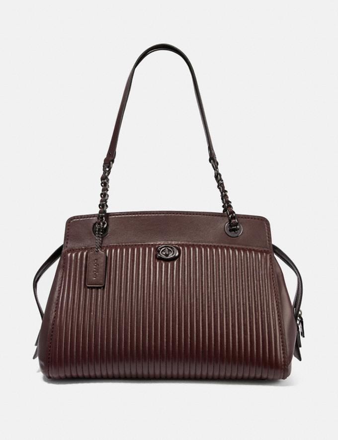 Coach Parker Carryall With Quilting Gm/Oxblood