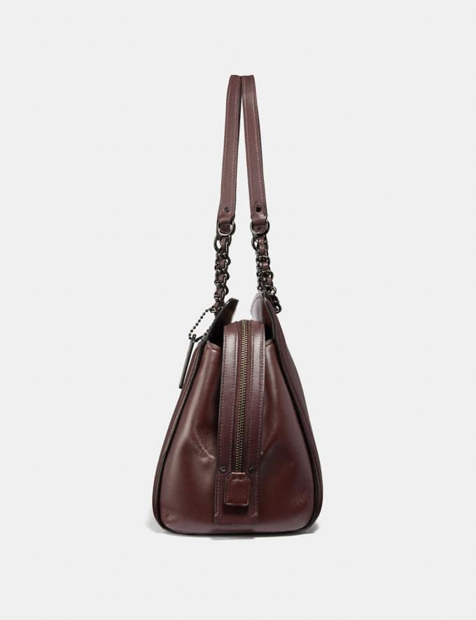 Coach Parker Carryall With Quilting Gm/Oxblood  Alternate View 1
