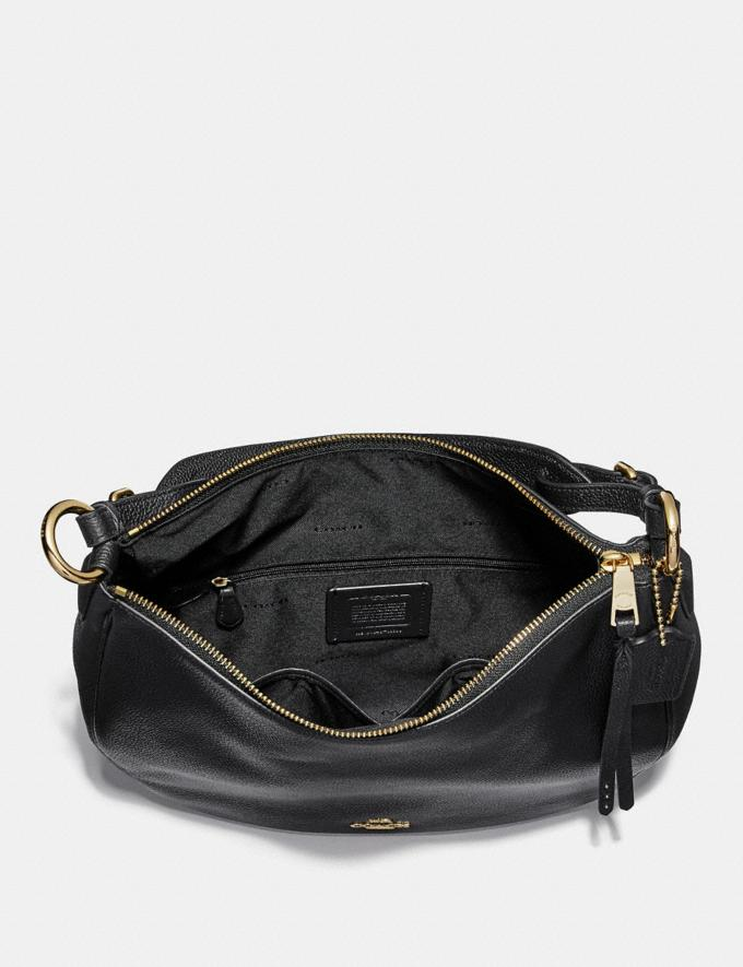 Coach Sutton Hobo Sv/Midnight Navy VIP SALE Women's Sale Bags Alternate View 2