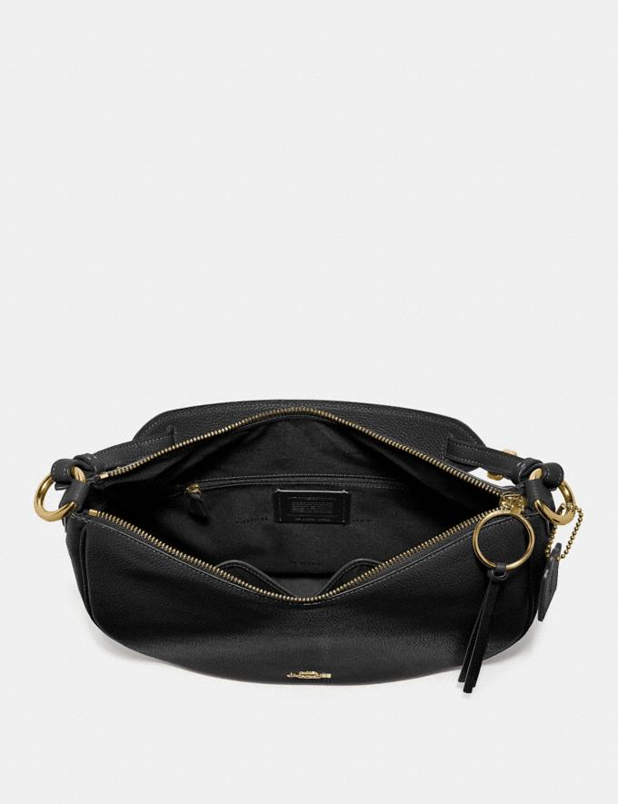 Coach Sutton Hobo Black/Gold Gifts For Her Alternate View 2
