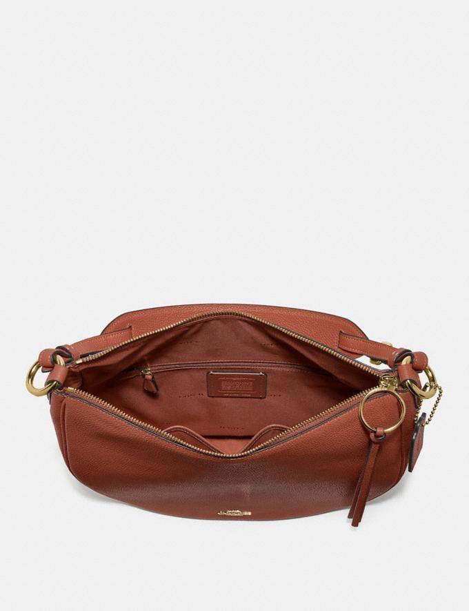 Coach Sutton Hobo 1941 Saddle/Gold PRIVATE SALE Women's Sale Bags Alternate View 3