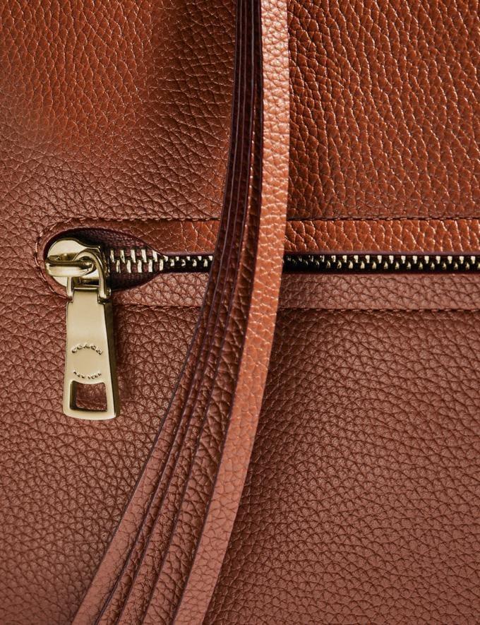 Coach Sutton Hobo Sattelbraun/Gold Limitierte Angebote Damen Taschen Alternative Ansicht 6