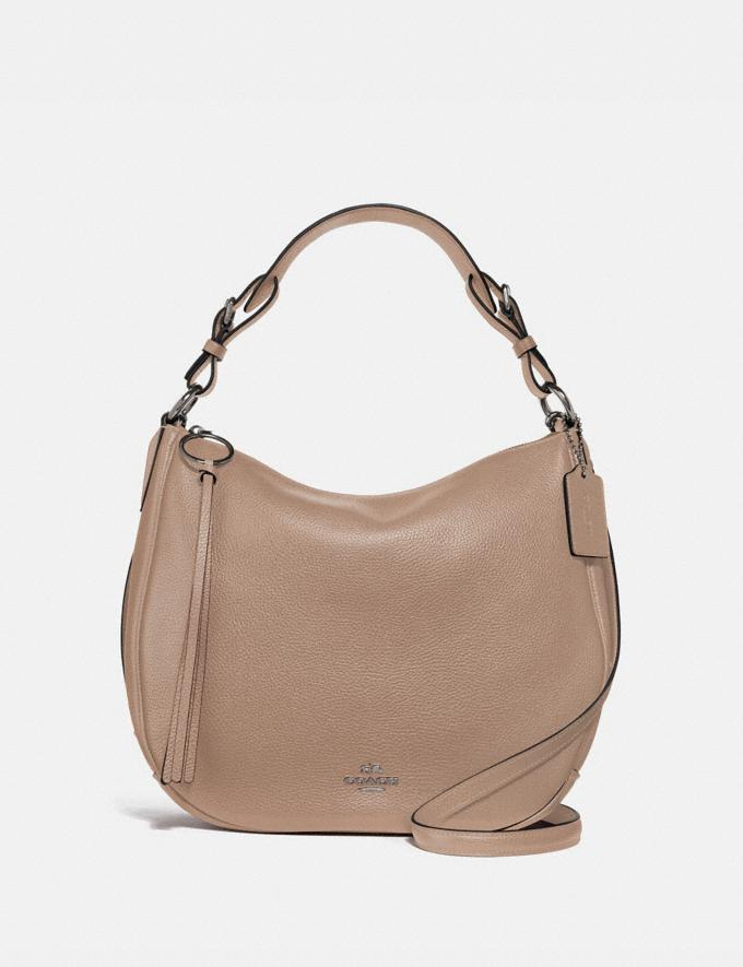 Coach Sutton Hobo Lh/Taupe VIP SALE Women's Sale Bags