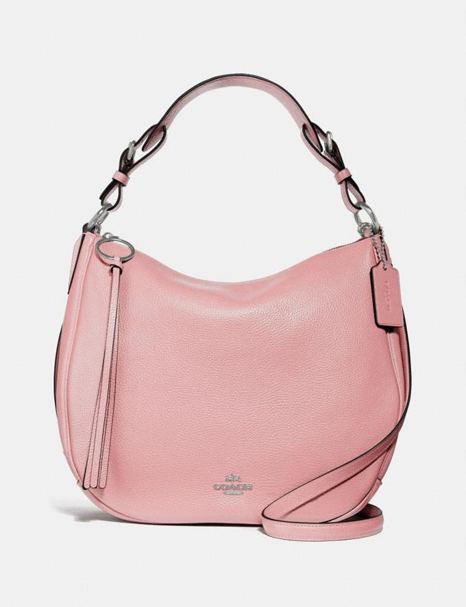 Coach Sutton Hobo Blossom/Silver New Featured Women New Top Picks