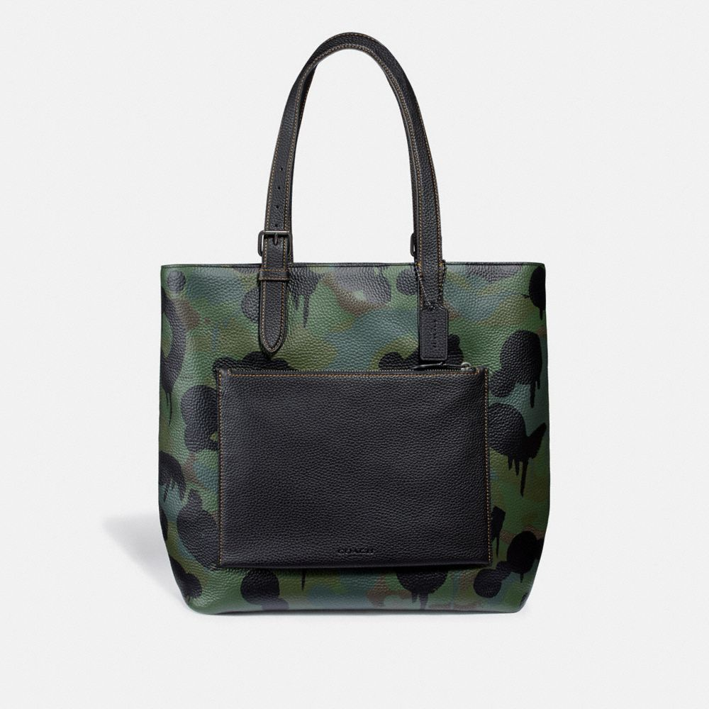 Coach Metropolitan Soft Tote With Wild Beast Print