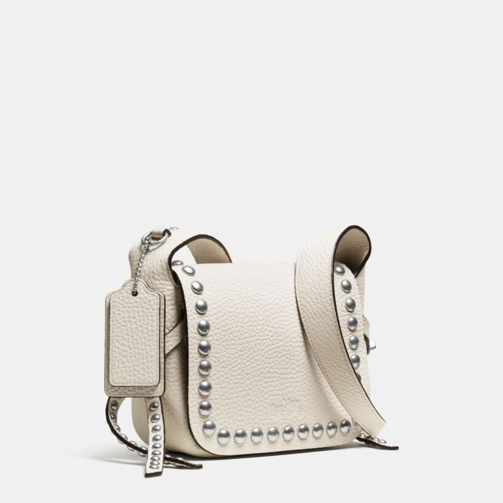 Rivets Dakotah 14 Crossbody in Pebble Leather - Autres affichages A2