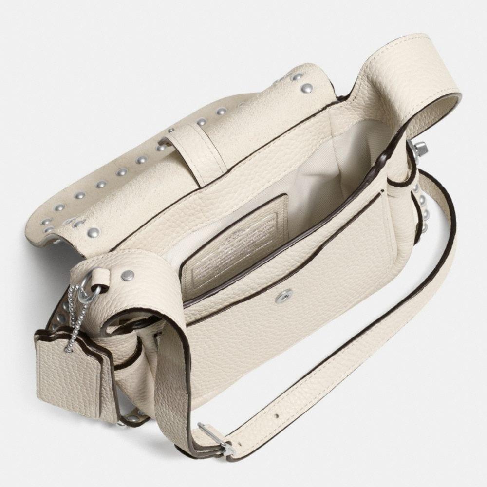 Rivets Dakotah 14 Crossbody in Pebble Leather - Autres affichages A3