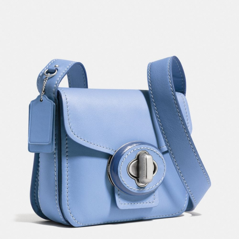 DRIFTER SHOULDER BAG IN CALF LEATHER - Alternate View A2