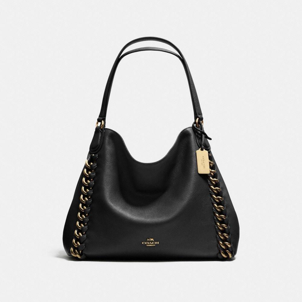 EDIE SHOULDER BAG WITH LARGE WHIPLASH