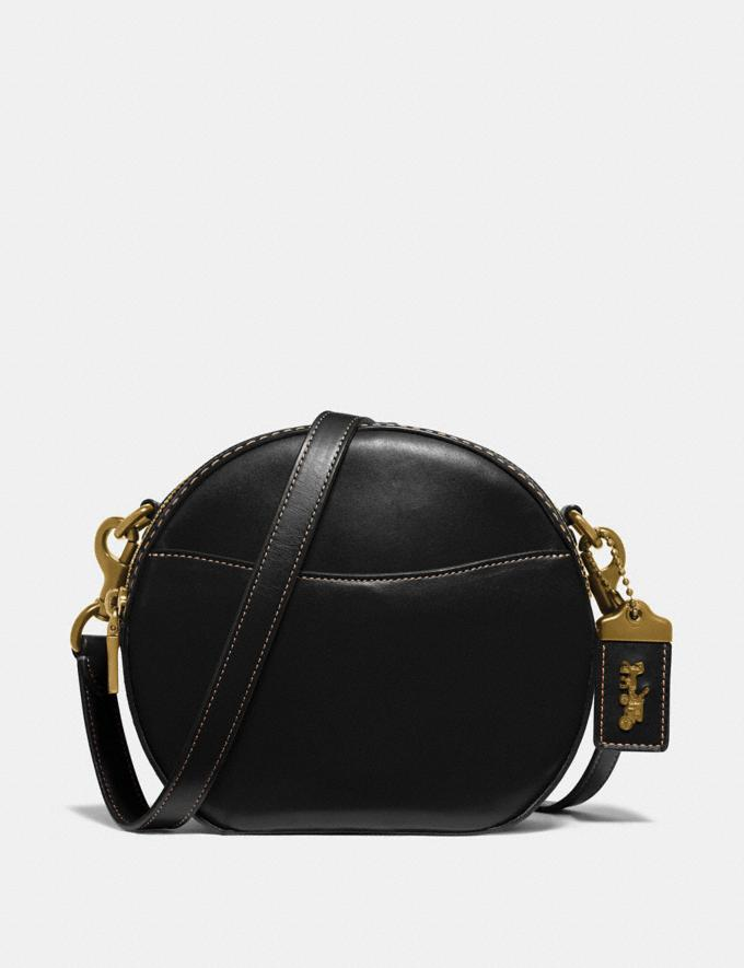 Coach Canteen Crossbody Black/Brass Women Bags