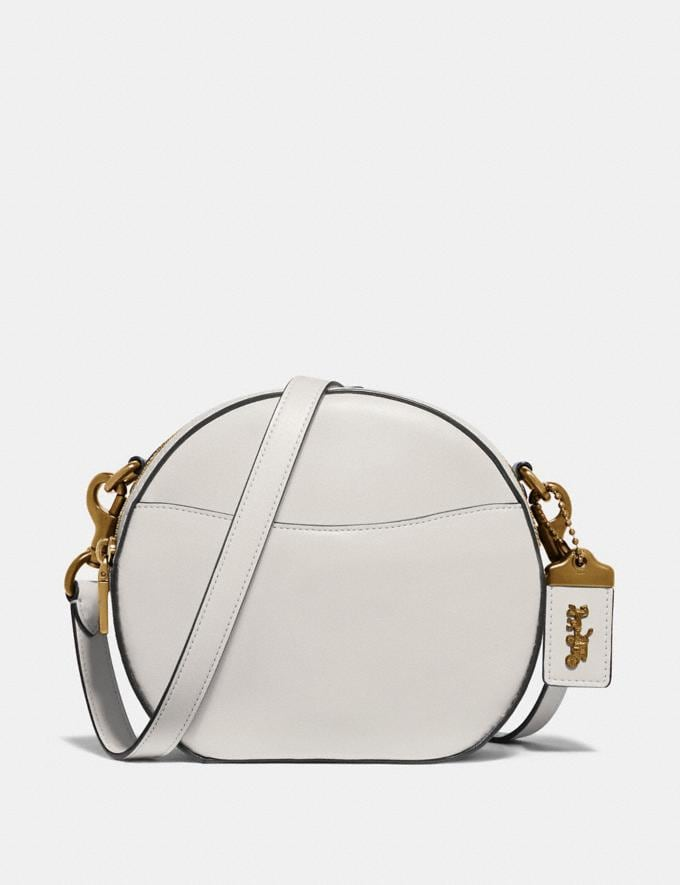 Coach Canteen Crossbody Chalk/Brass Women Bags Crossbody Bags