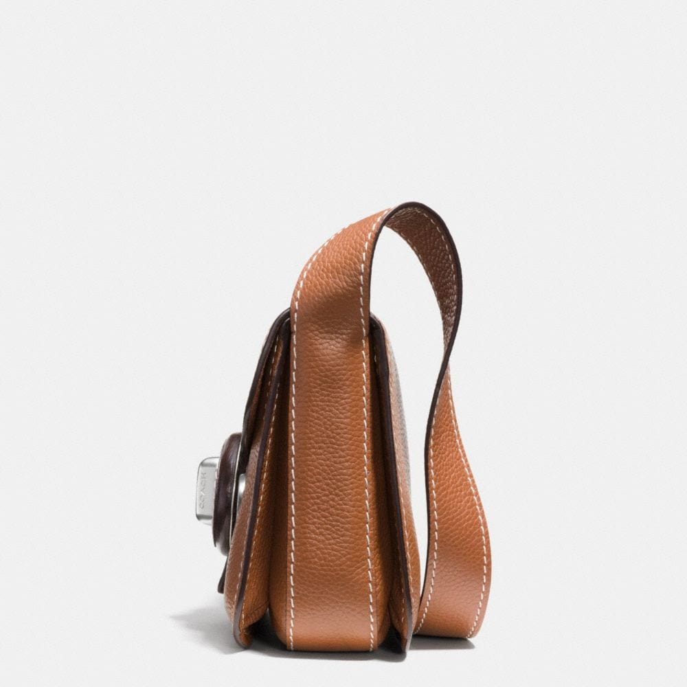 Drifter Shoulder Bag in Pebble Leather - Alternate View A1