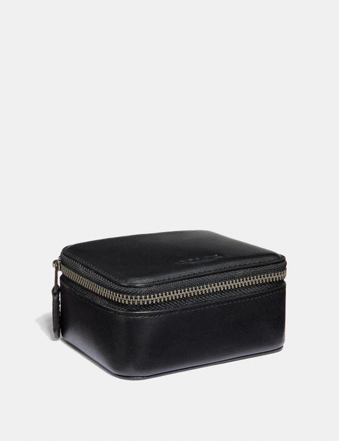Coach Small Travel Case Black Cyber Monday Men's Cyber Monday Sale Accessories