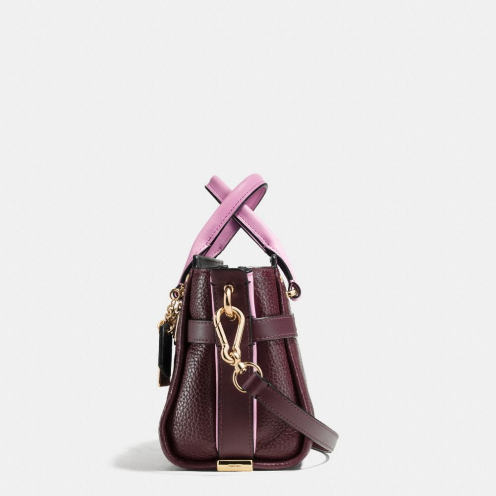 COACH SWAGGER 20 IN COLORBLOCK LEATHER - Alternate View A1