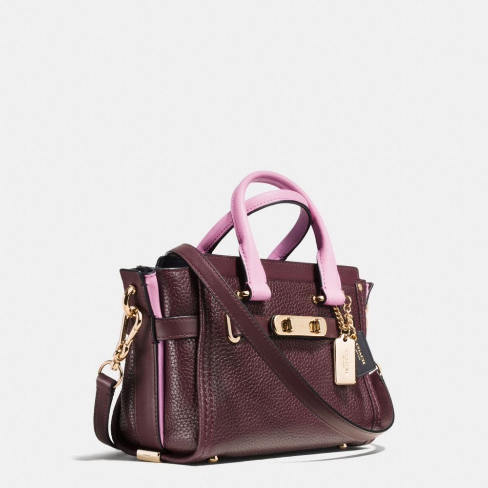 Coach Swagger 20 in Colorblock Leather - Autres affichages A2