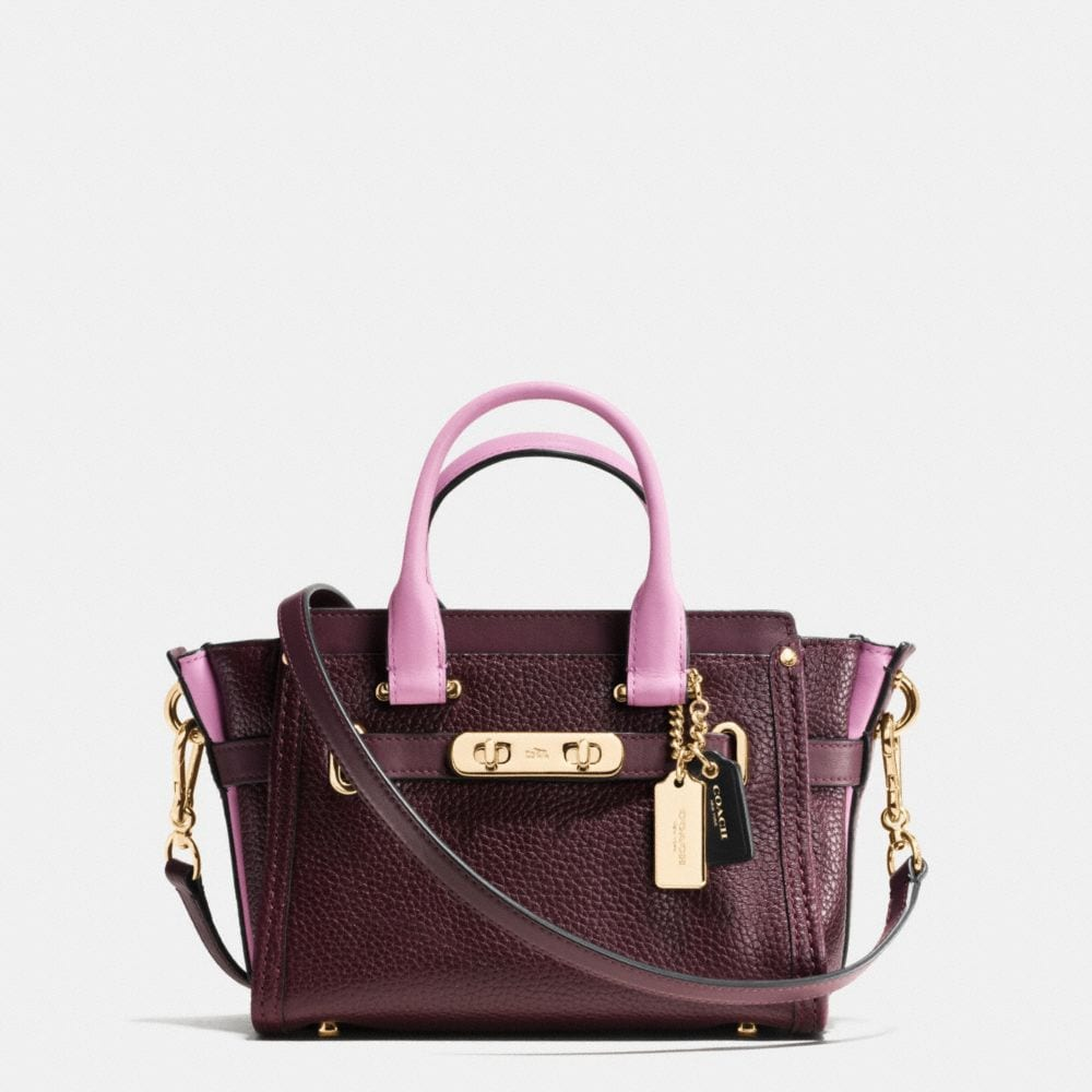 Coach Swagger 20 in Colorblock Leather