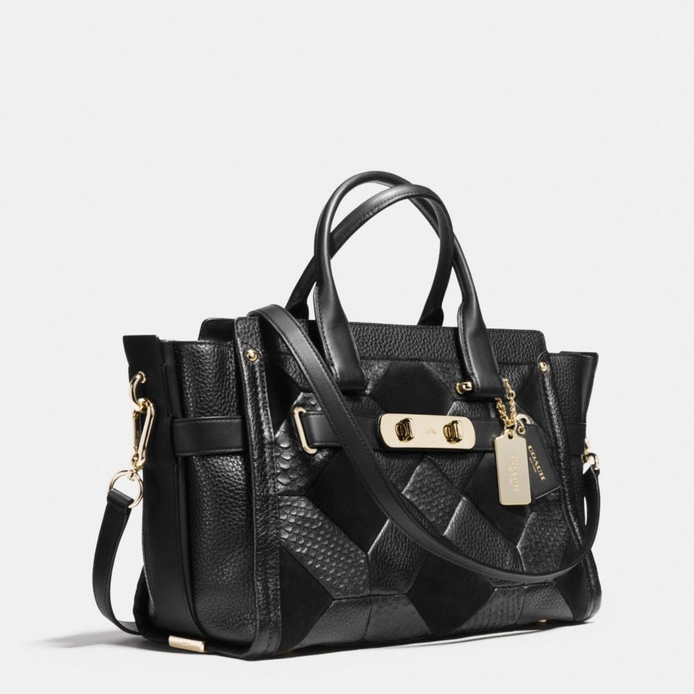 Coach Swagger in Patchwork Pebble Leather - Alternate View A2