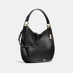 COACH: Nomad Hobo In Glovetanned Leather