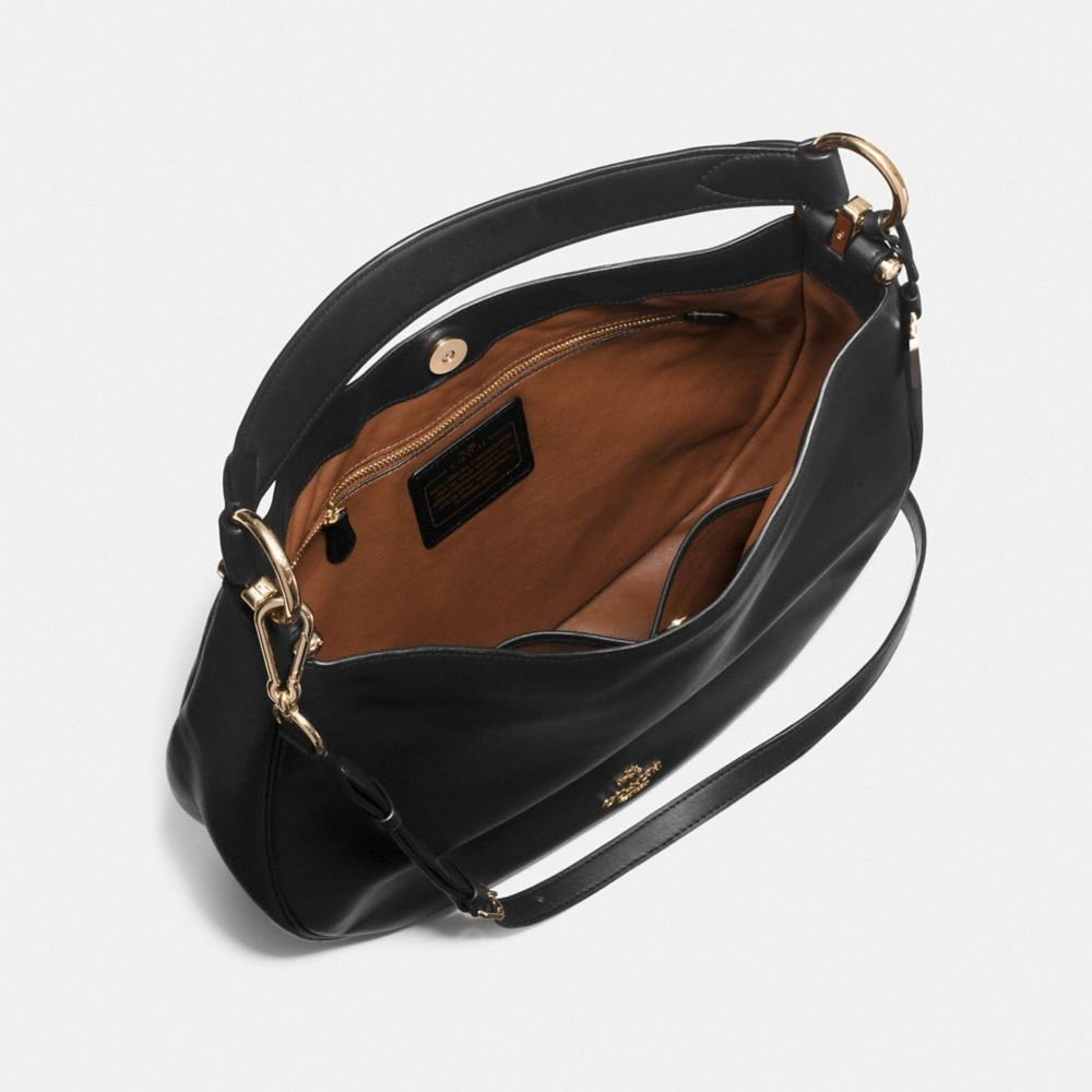 COACH NOMAD HOBO IN GLOVETANNED LEATHER - Autres affichages A3
