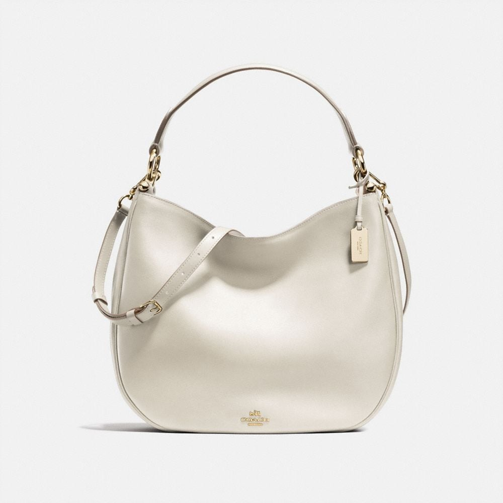 COACH NOMAD HOBO IN GLOVETANNED LEATHER