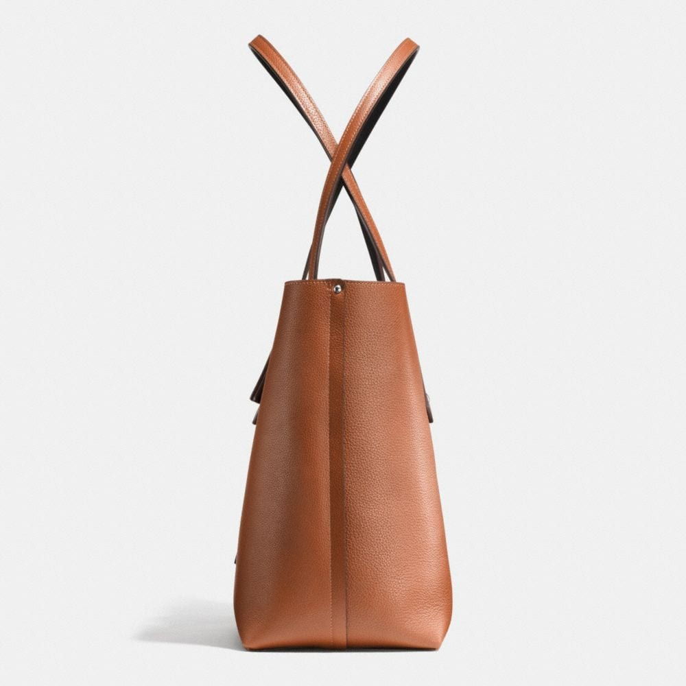 Market Tote in Refined Pebble Leather - Autres affichages A1