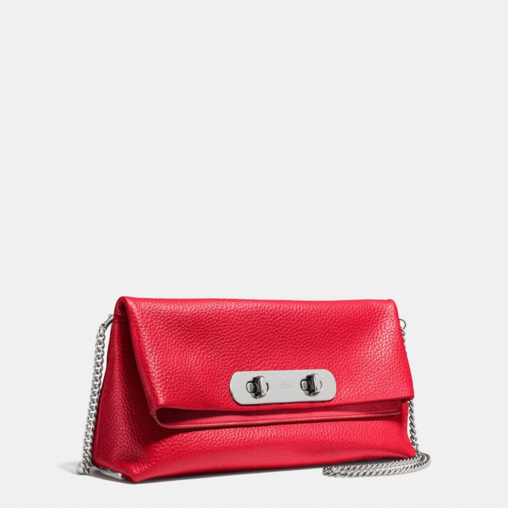 Coach Swagger Clutch in Pebble Leather - Alternate View A2
