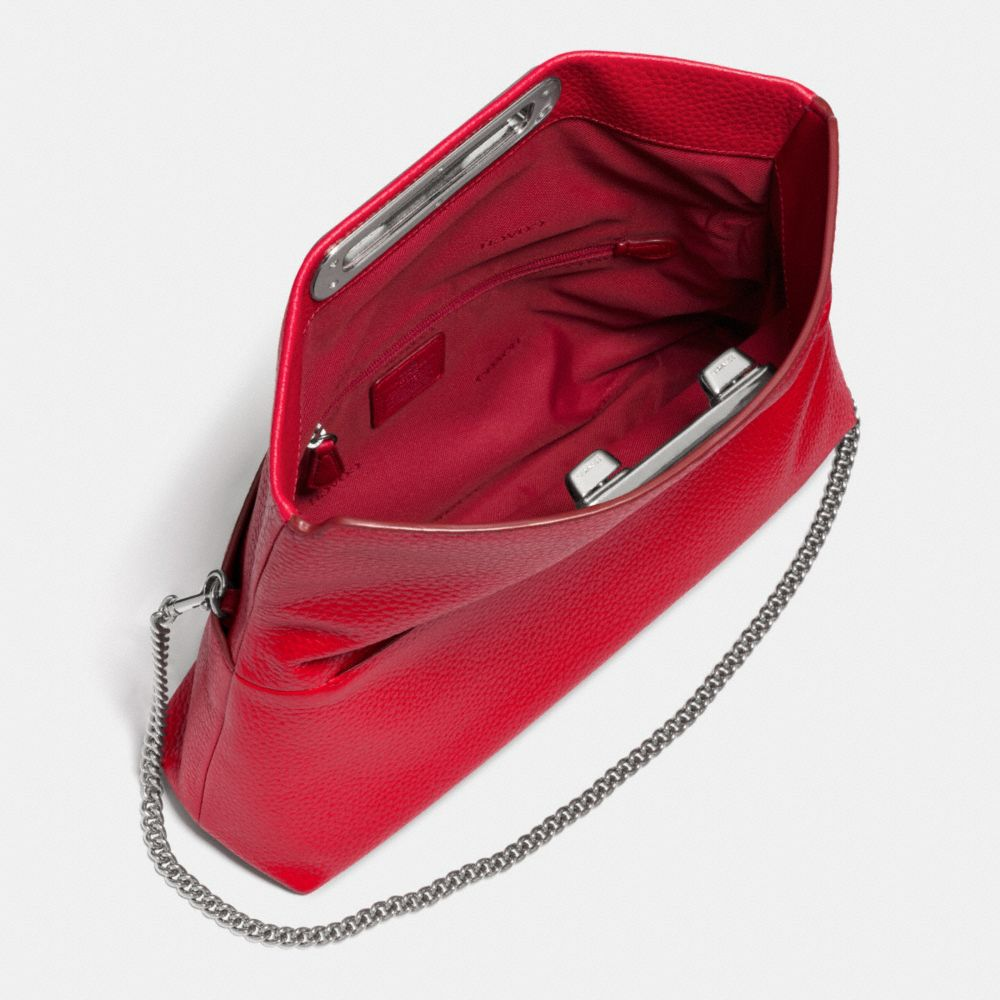 Coach Swagger Clutch in Pebble Leather - Alternate View A3