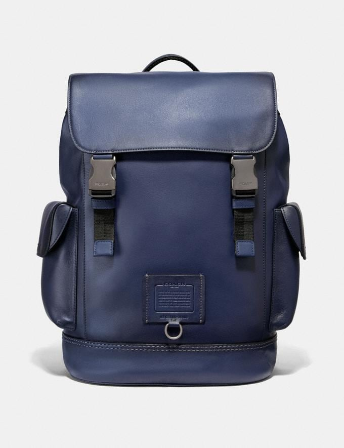 Coach Rivington Backpack Cadet/Black Copper Finish New Men's New Arrivals